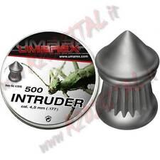 Blei-Gewichte Umarex intruder Diabolo cal 4.5 mm Kopf a spitze 500 Stk Pellets