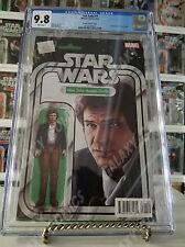 CGC 9.8 Star Wars Han Solo #1 ~ Action Figure Variant ~ JTC Website Exclusive