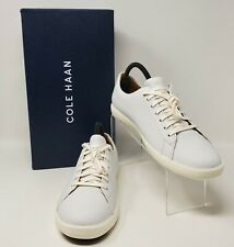 Cole Haan Men's Grand Crosscourt II Sneaker, white Size 11.5M White Leather NWB
