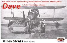 """Rising Decals 1/48 NAKAJIMA E8N1/2 """"DAVE"""" Japanese WWII Floatplane"""