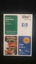 HP Premium Photo Paper 100 Inkjet Glossy Glace Sheets 4 x 6  64 lbs Q1990A