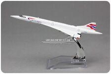 British Airways Concorde Passenger Airplane Plane Metal Diecast Aircraft Model
