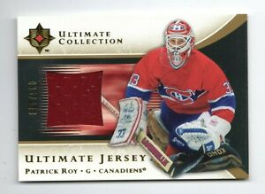 PATRICK ROY NHL 2005-06 ULTIMATE COLLECTION JERSEYS #/250 (MONTREAL CANADIENS)