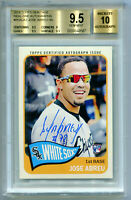 JOSE ABREU 2014 Topps Heritage Real One Rookie RC Auto Card Gem Mint BGS 9.5 10