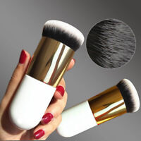 Chubby Pier Foundation Brush Flat Make Up Cream Brushes Professional Cosmetic H