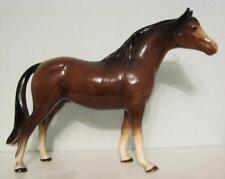 "Cooper Melba Ware Brown Gloss Horse 9"" - ear slightly damaged"
