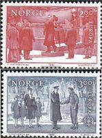 Norwegen 865-866 (kompl.Ausg.) postfrisch 1982 Historische Ereignisse
