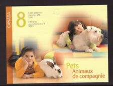 Canada 2004 Pets Booklet mint stamps complete