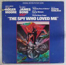 James Bond 007 33 tours L'espion qui m'aimait 1977