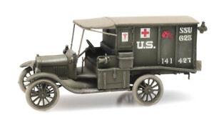 Artitec 6870308 - 1/87/H0 WWI T-Ford Ambulance US Army - New