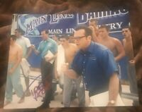 TOM ARNOLD SIGNED 8X10 PHOTO COACH W/COA+PROOF RARE WOW