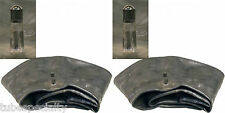 2  (TWO)  15X600-6 15X6.00-6 TIRE INNER TUBE  RUBBER VALVE NEW FREE SHIPPING
