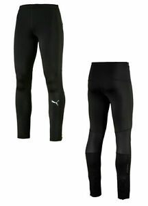 Puma Ignite Running Tight Mens Training Gym Leggings Black 517005 01 UA158