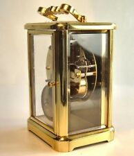 Outstanding German Brass Cased Stiking Carriage Clock