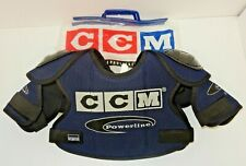 New Nos Ccm Powerline Msp120 Ice Roller Hockey Shoulder Pads - Adult Small (S)