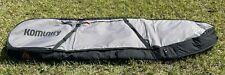 Komunity Double Traveler Board Rolling / Wheeled Bag - Grey & Black - 8' Ft