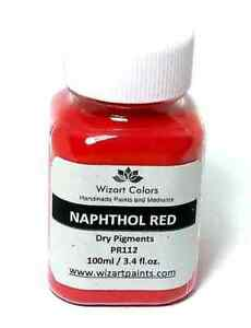 Naphthol Red Pigment Powder for craft and Art Mixed Media Painting and Cement