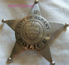 IN13275 - Obsolete CITY OF ALBANY POLICE STAR BADGE