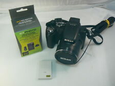 Nikon COOLPIX P100 10.3MP 26X Zoom Swivel Screen Digital Camera - Works Great!