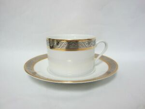 PHILIPPE DESHOULIERES ORLEANS - Flat Cup & Saucer