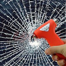 Car Emergency Safety Gear Break Window Glass Hammer Belt Rope Cutter Tool YST