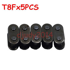 5x T8F Master Chain Connector Link For Mini Motor Pocket Bike Motorized Bicycle