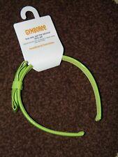 """GYMBOREE """"Cheery All the Way"""" Lime Bow Headband~ New!"""