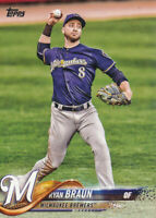 Ryan Braun 2018 Topps Series 1 #180 Milwaukee Brewers baseball card