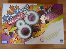 Trivial Pursuit Totalement 80 French Board Game Jeu Parker Brothers/Hasbro 2006
