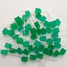 PTH * 50 Pcs Green Fun Shaped LEDs * Create with brick LEDs * Special LEDs