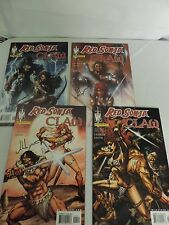 Red Sonja Claw #1-4 VF/NM complete series all signed by john layman -