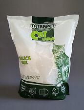 Gel de sílice 3.8L Gatos 1.5kg antibacteriano Gatito Baño de arena suministros para mascotas