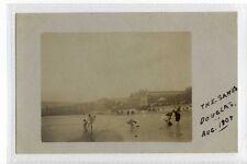 (Sc991-428) RP, The Sands, DOUGLAS, I.O.M. 1907, Postally unused  VG