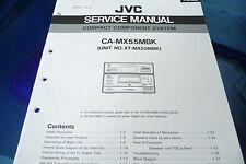 Servicio Manual de instrucciones para JVC ca-mx55 MBK , xt-mx55 MBK, original