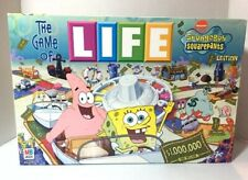 The Game of Life SpongeBob Squarepants Edition 2005  (330-088)  MINT CONDITION!!
