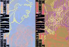 Akira Storyboard Art Book The Continuity Of Akira 1 + 2 set book 1988