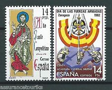 ESPAGNE - 1982 YT 2277 et 2287 - TIMBRES SELLOS NEUFS** MNH LUXE