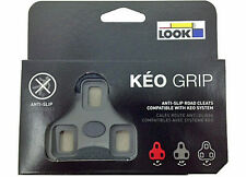 2017 Genuine LOOK Brand KEO GRIP Cleats Fit Blade Carbon Max Classic: 4.5° GRAY