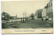 CPA - Carte Postale - Belgique - Dinant - Promenade aux Bords de la Meuse