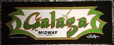 """Galaga Arcade Marquee 23""""x9"""""""
