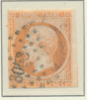 France Stamp Scott #18, Used