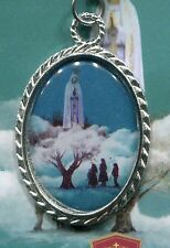 Fatima , Portugal - 100 Years of the Apparitions of Our Lady Colored Pendant