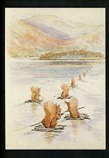 Beatrix Potter Animal  Postcard Tale of Squirrel Nutkin 76 / 7HT