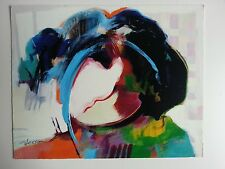 Hessam Abrishami,Young Star 10x11 inch,369/495, original Collectors Edition,