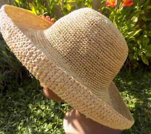 chapeau de paille grande taille chapeau fait main 2