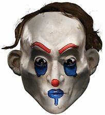 Happy Mask Bank Robber Clown Joker Henchman Batman Dress Up Costume Accessory