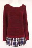 WESTBOUND Sweater Women's Large Multicolor Long Sleeve Blouse
