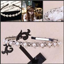 Kitty Cat Ears Headband Black Cosplay Costume Crystal Tiara Concert Halloween