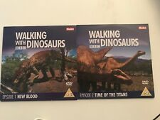 BBC's Walking With Dinosaurs Episode / Episodes 1 & 2  DVD The Sun Promo 2x DVDs