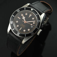 41mm Corgeut Sapphire Glass Coffee Dial Black Bezel Miyota Automatic Watch